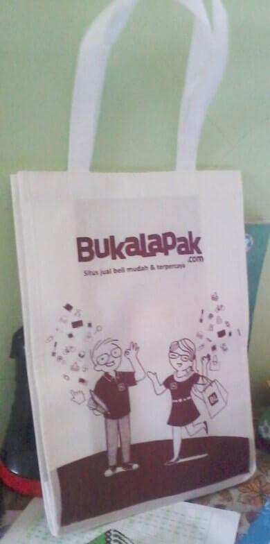 Grosir Tas Spunbond Polos Murah Jakarta