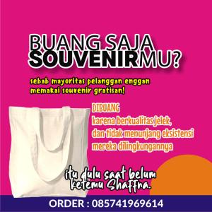 Produsen Tas Promosi Murah Jakarta Surabaya Bandung Semarang Makasar